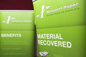 Newport Paper Recycling at LARAC